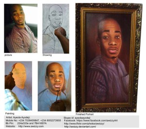 portrait painting by ayeola ayodeji abiodun awizzy 2014 january low res