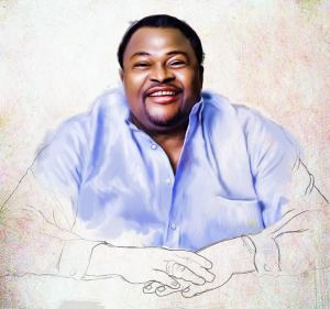 sketch of mike adenuga portrait painting by ayeola ayodeji abiodun awizzy stages (2)
