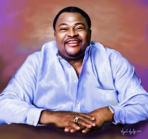 sketch of mike adenuga portrait painting by ayeola ayodeji abiodun awizzy stages (4)
